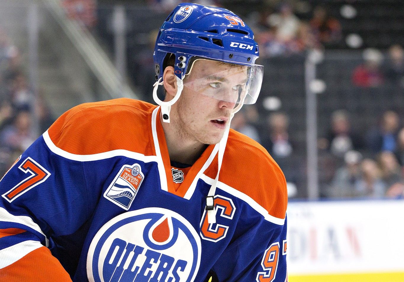 new product e9236 323e8 Connor McDavid 'right guy' to be Oilers captain, says Hall ...