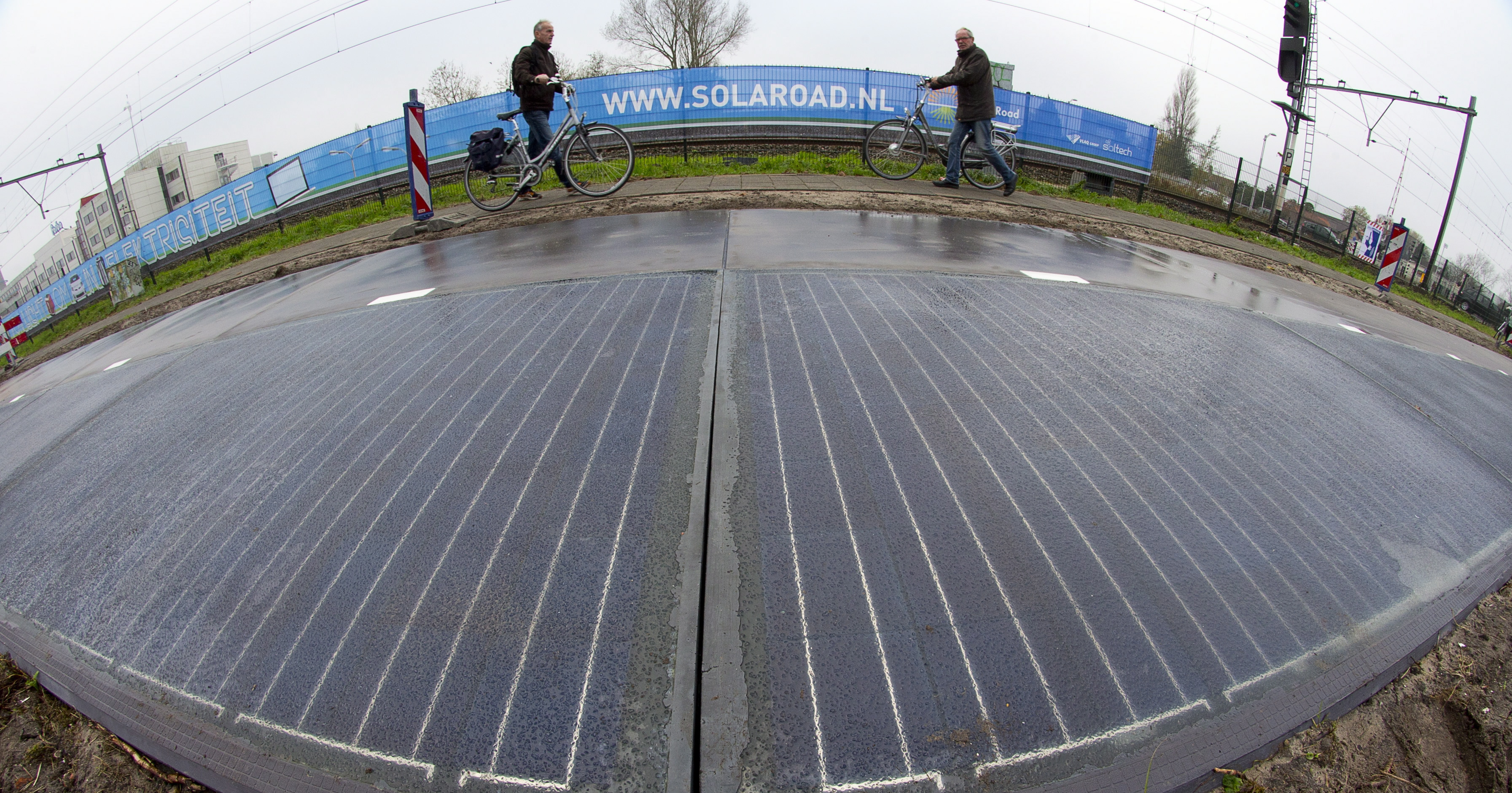 Walking On Sunshine Idaho Company Debuts Solar Sidewalks