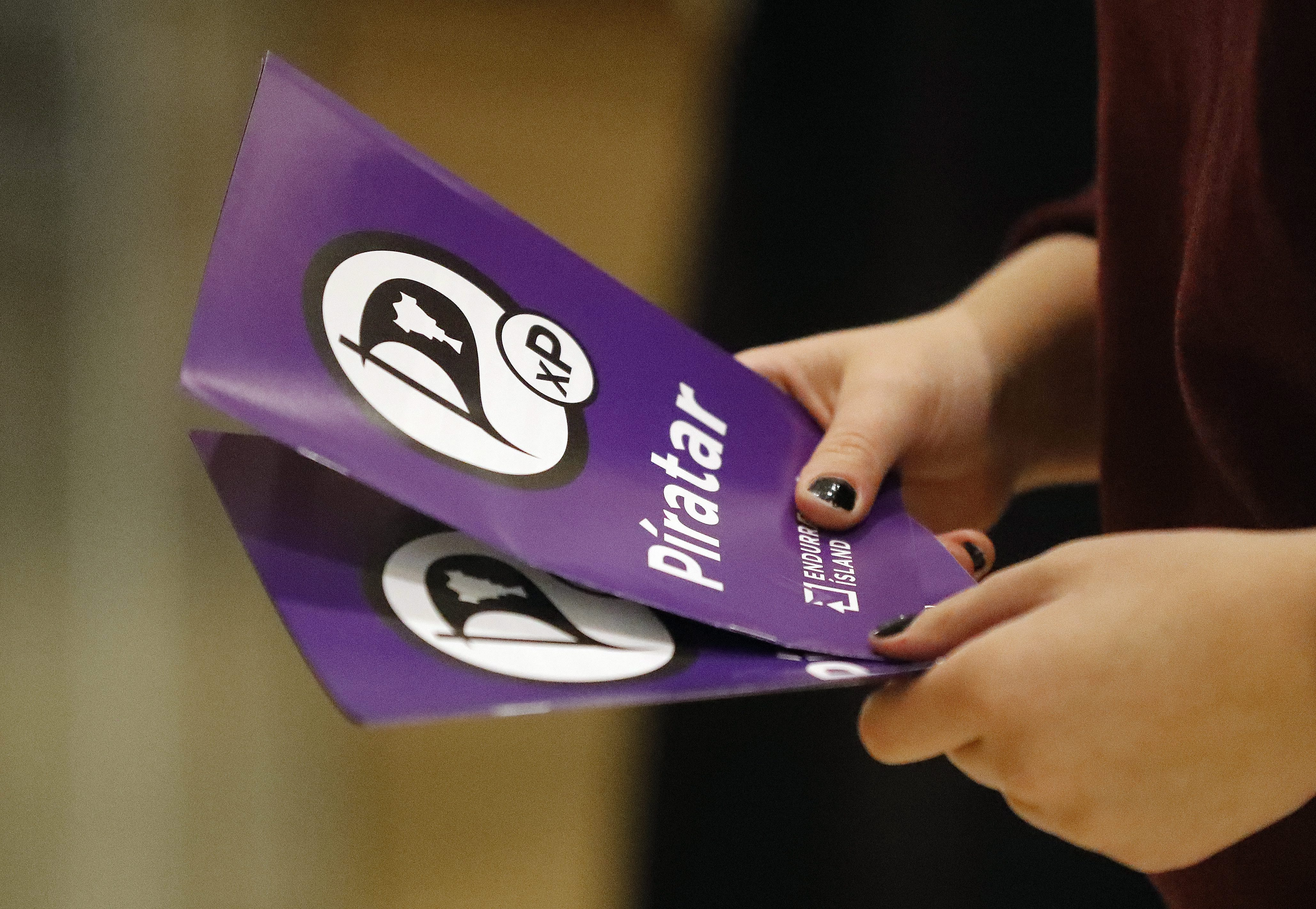 Iceland's Pirate Party Could Make Major Gains In Parliament
