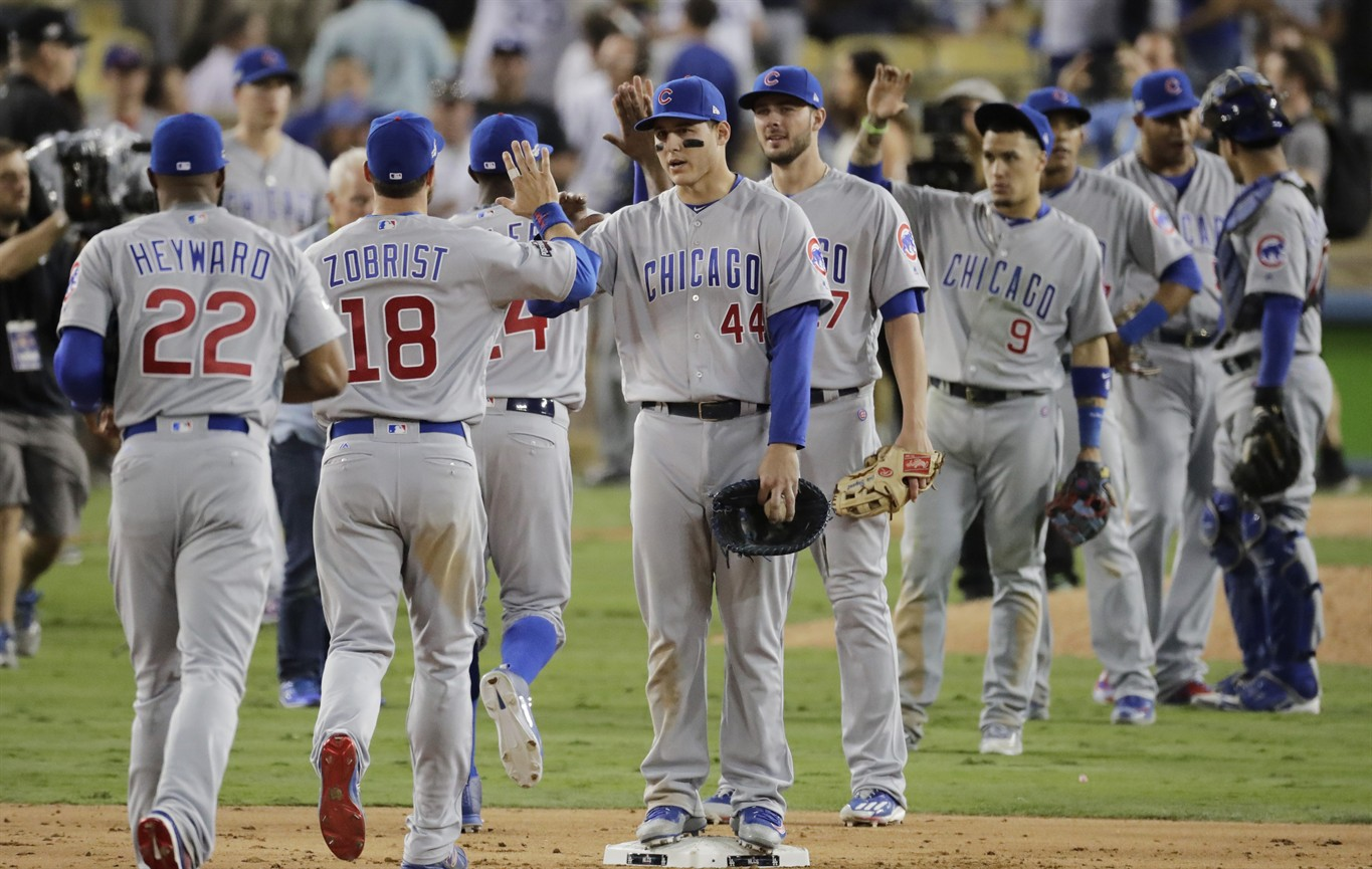 LEADING OFF: Day off for Dodgers, Cubs before NLCS Game 6