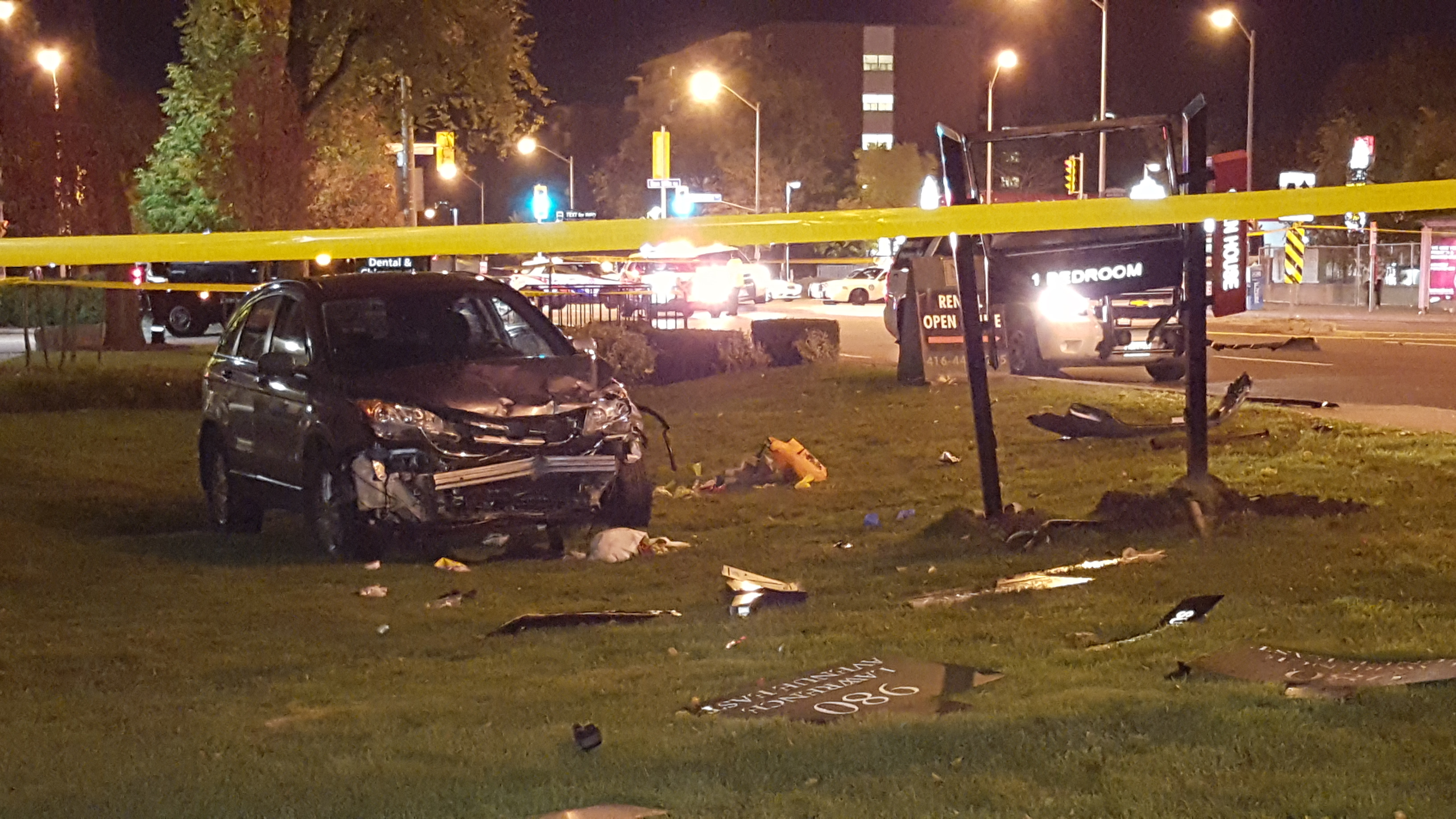 Trick-or-treating Toronto teens seriously injured after being hit by auto