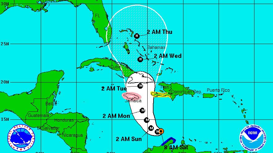 Recent hurricanes 2016