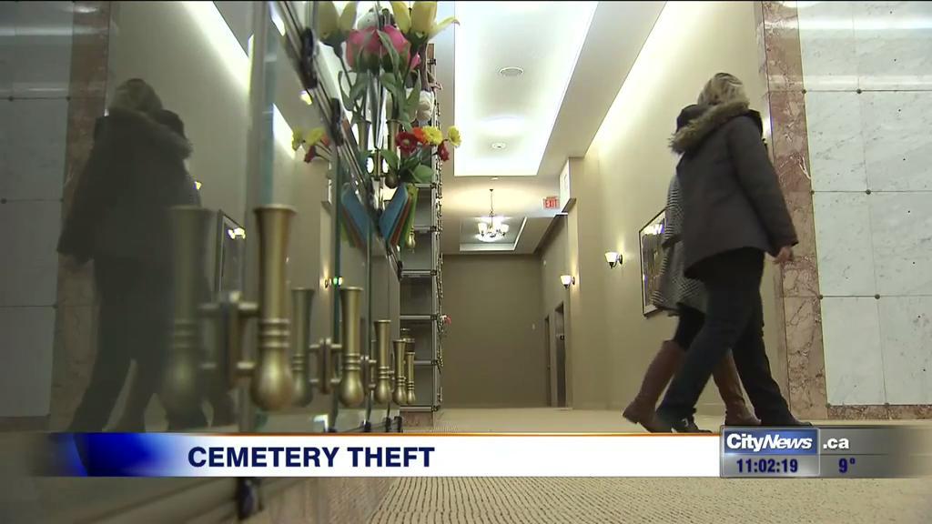 Video: More wedding rings stolen from Oakville mausoleum
