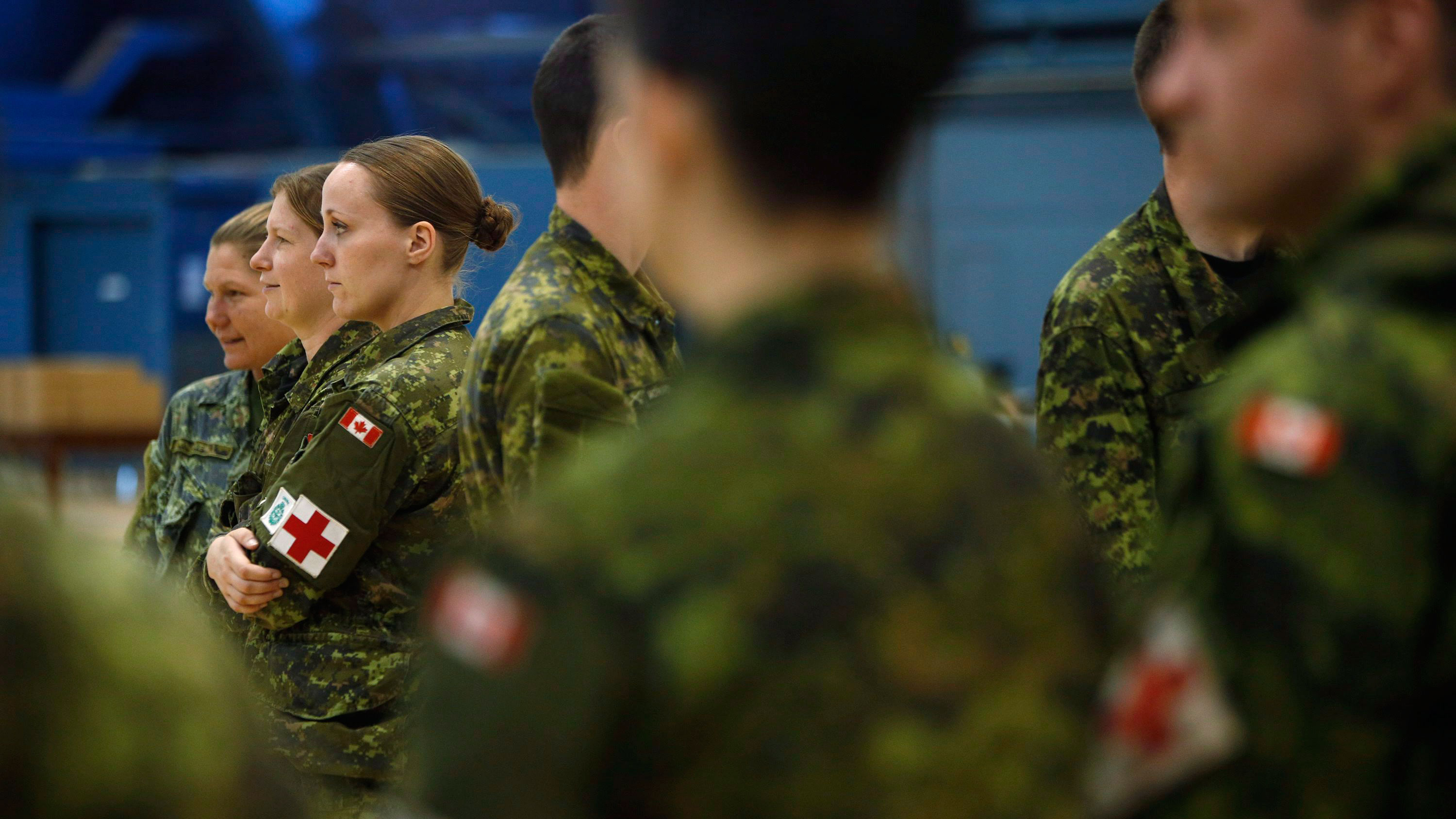 960 soldiers reported being sexually assaulted last year: Statscan