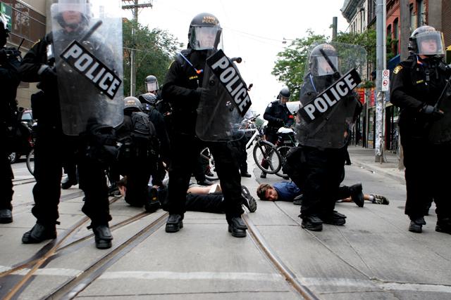 G20 strip searches