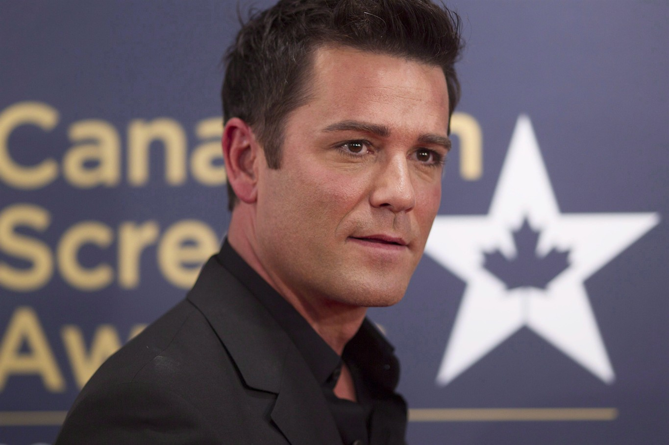 yannick bisson and his family