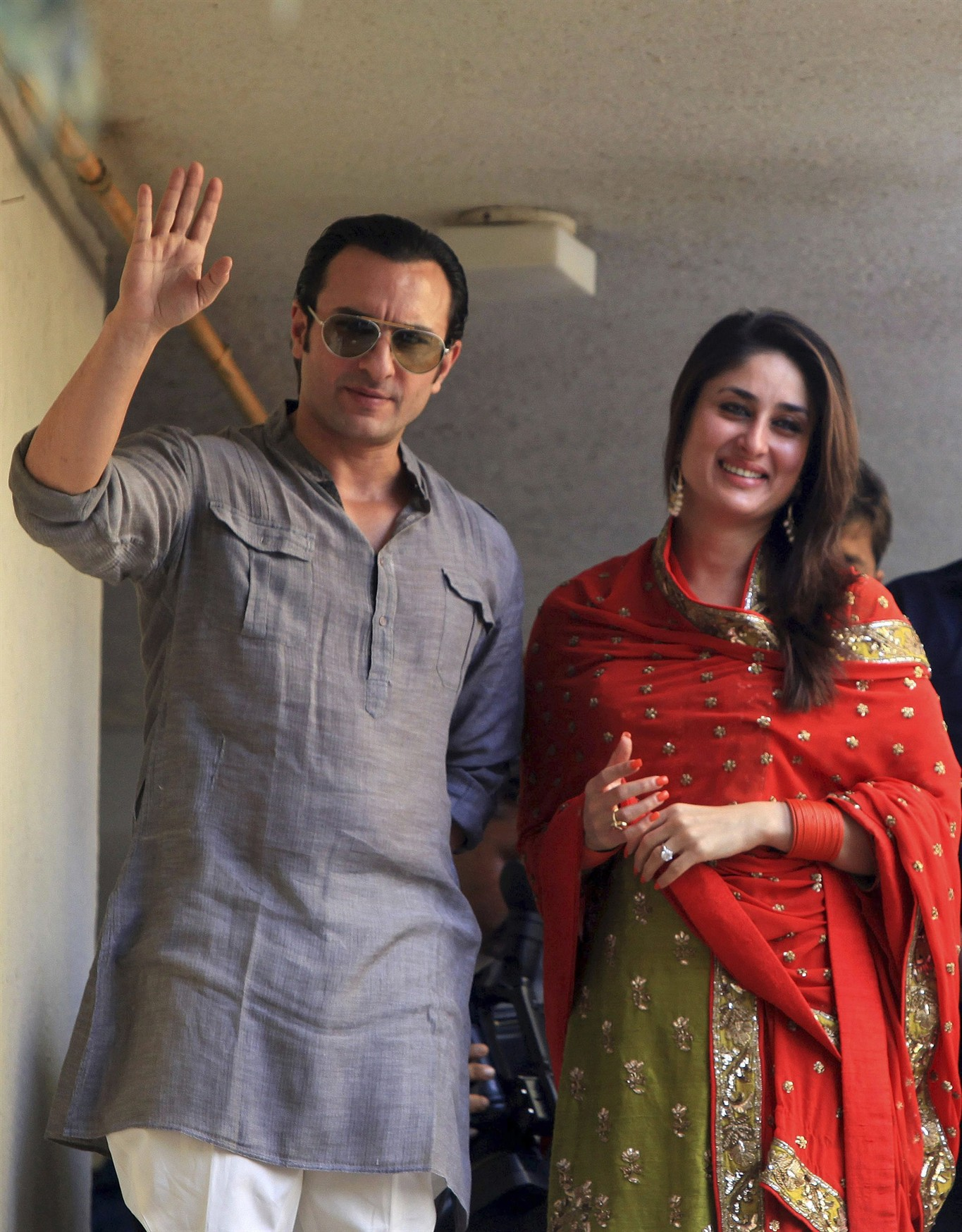 3c2ec7fb8277d Bollywood couple Kareena Kapoor and Saif Ali Khan have baby