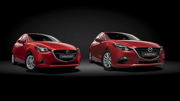 Mazda2 And Mazda3