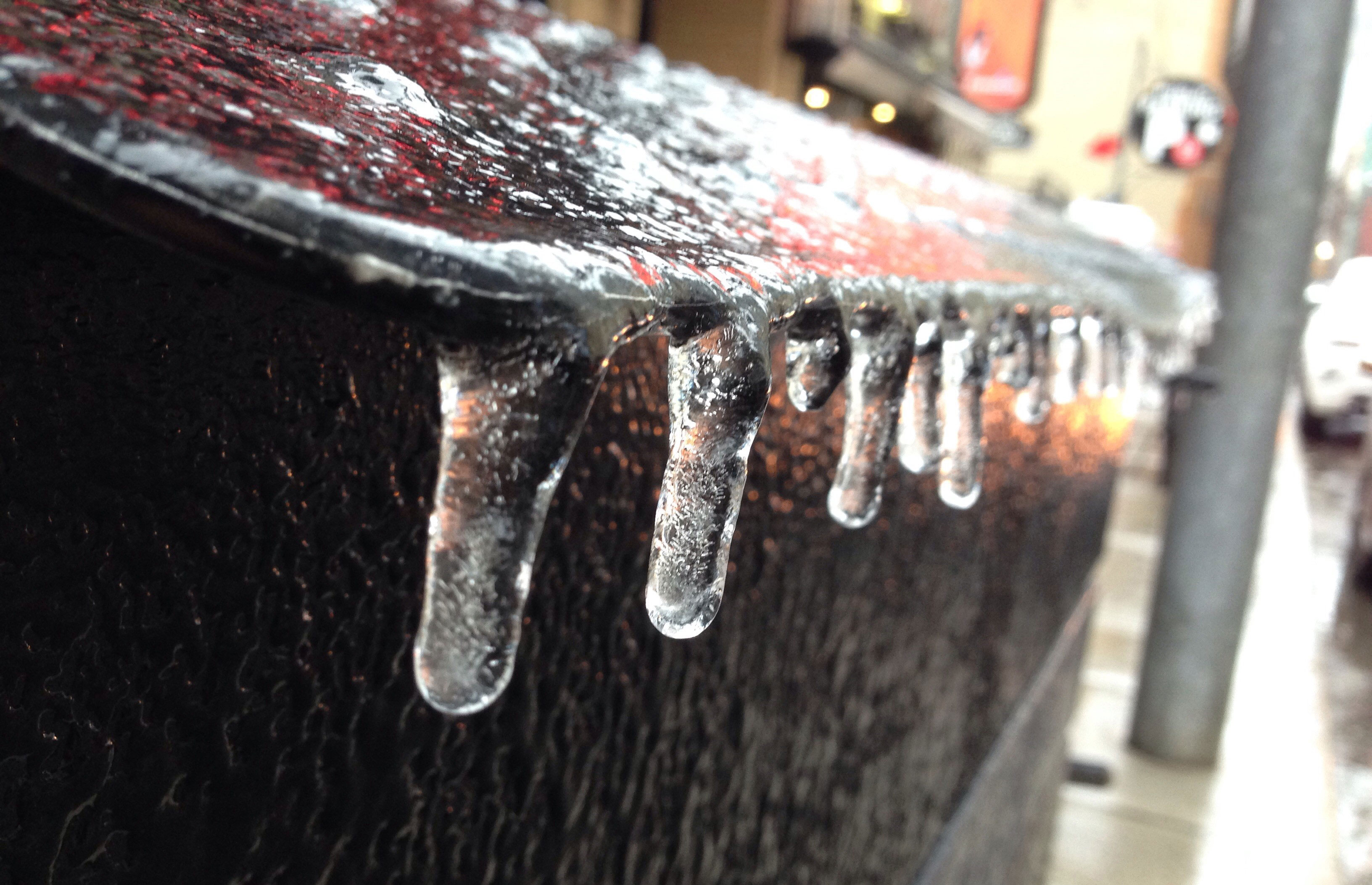 Prepare for a blast of wintry weather and freezing rain on Thursday