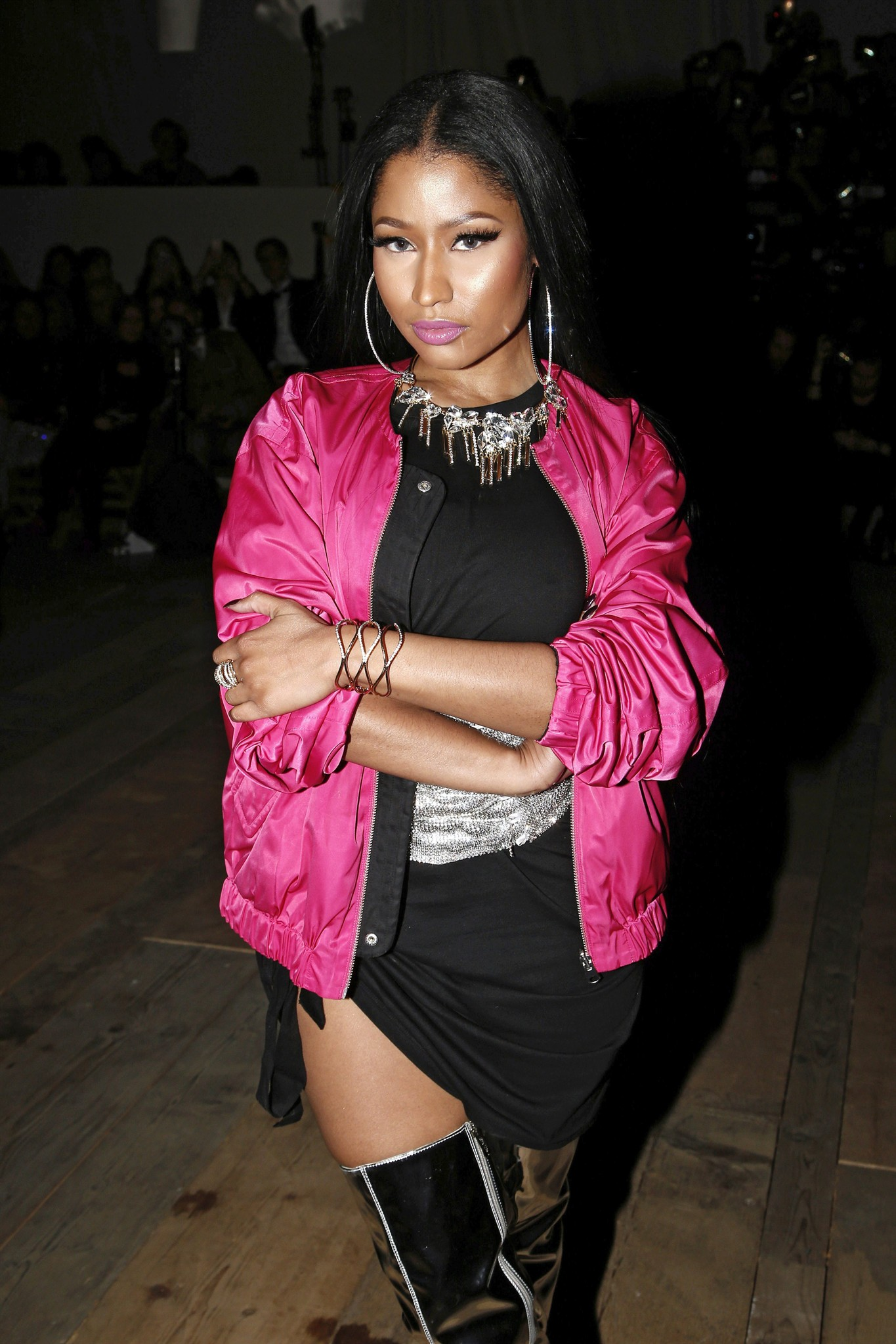 Nicki minaj addresses remy ma drama in new song no frauds 680 news file in this wednesday march 1 2017 file photo singer nicki minaj arrives to attend the hm fall winter 2017 2018 ready to wear fashion collection voltagebd Images