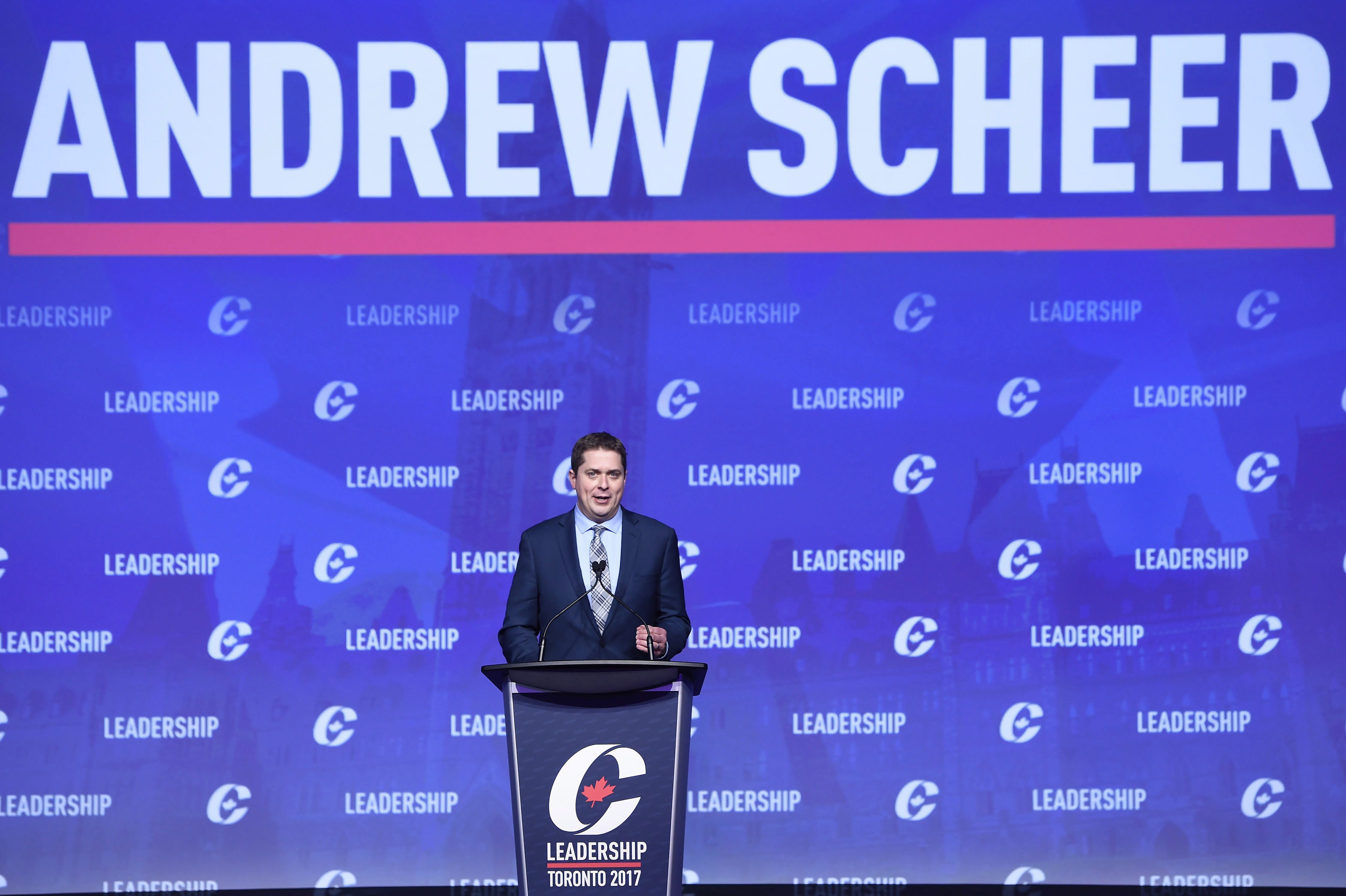 Andrew Scheer emerges as new Conservative leader