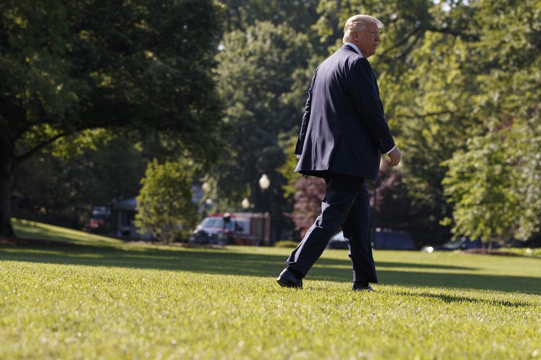 Trump calls Russian Federation probe political 'witch hunt'