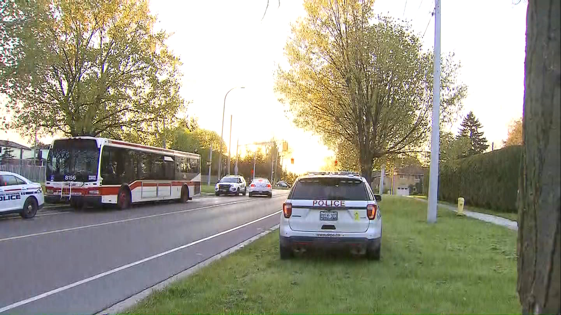 Suspect in custody after stolen TTC bus found in Ajax