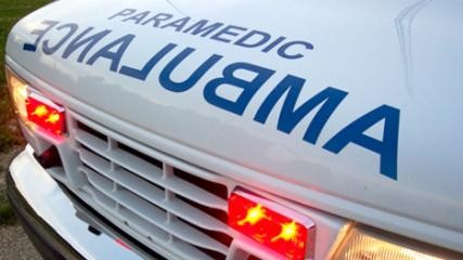 Stolen ambulance leads police on chase