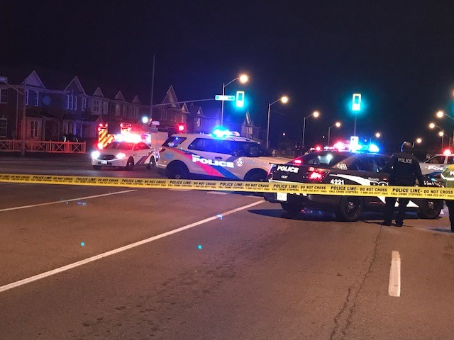 Woman struck by car, then carried away