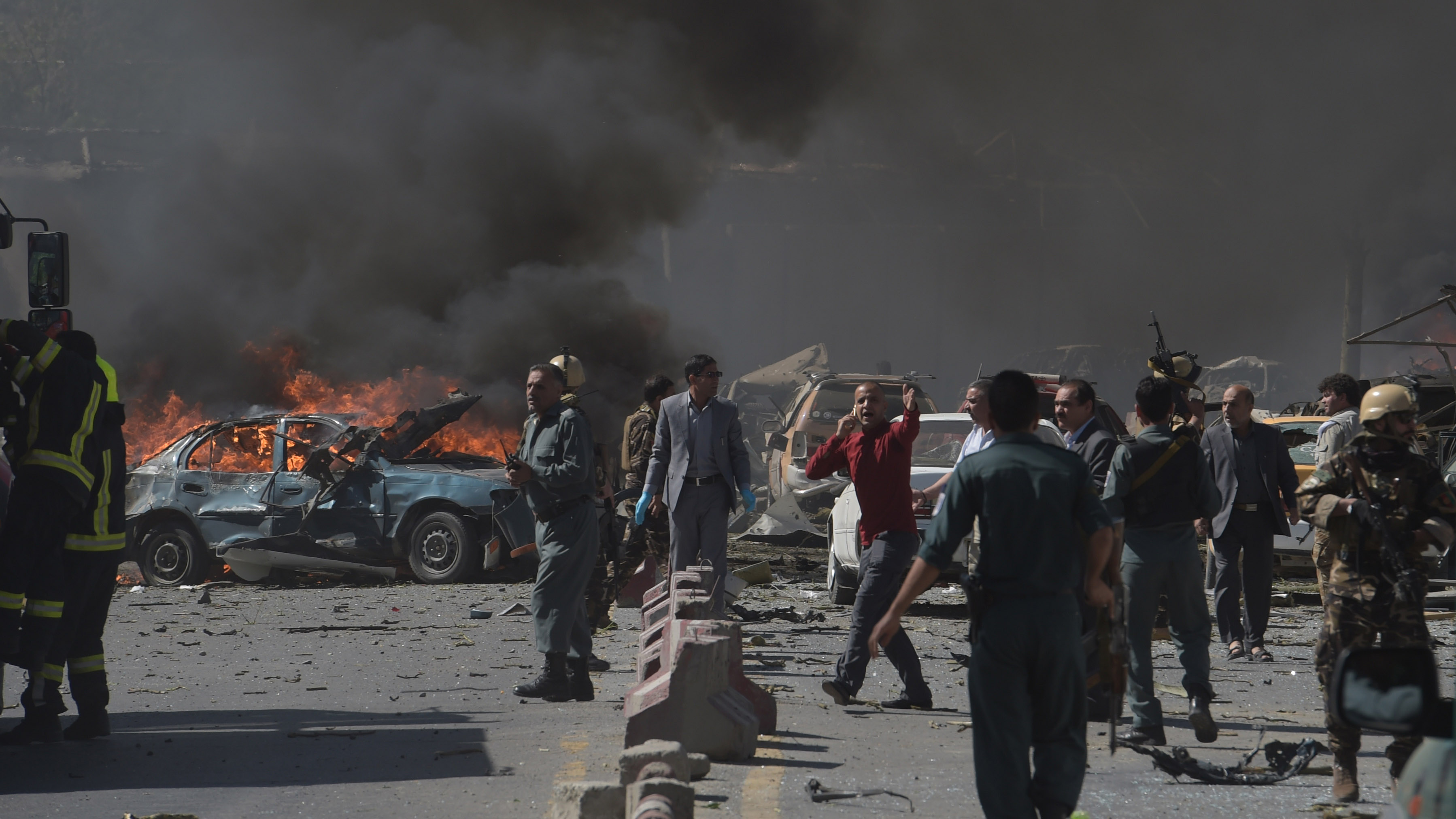 Image result for latest car bomb attack in Kabul