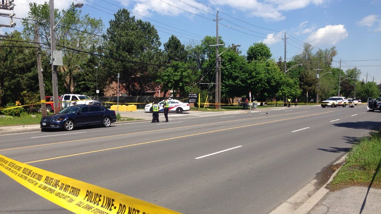 Two pedestrians critically injured in collision on Bayview Avenue