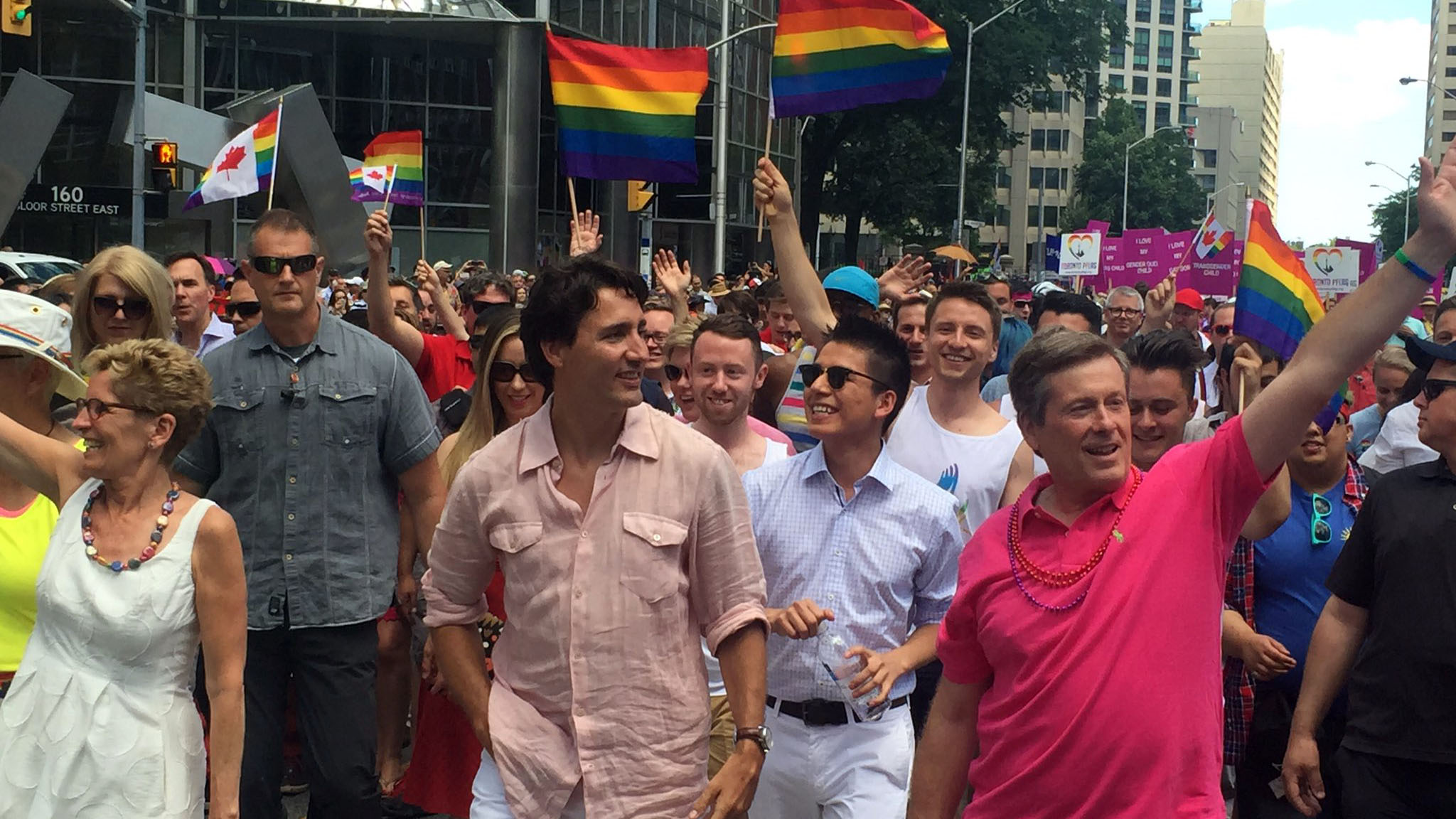 Justin Trudeau to march in Toronto Pride parade today