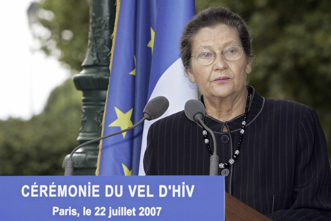French political icon Simone Veil eulogised as 'best of France'