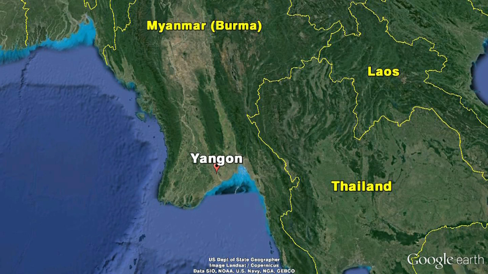More bodies found in Myanmar plane search