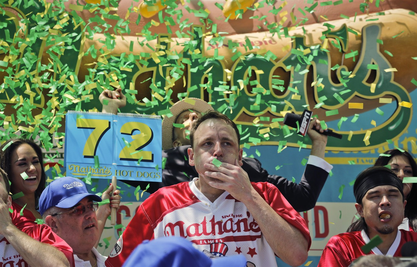 Nathan's Hot Dog Eating Contest returns for Fourth of July