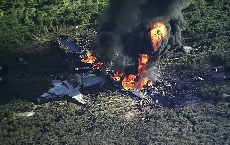Mississippi: Military plane crash kills 16
