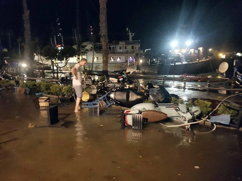 Turkey natural disaster triggers 'small tsunami — BBCI