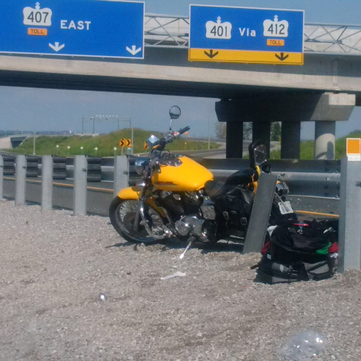 Motorcyclist killed in single vehicle crash on Highway 407