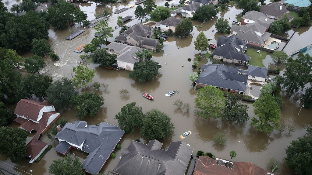 Experts Say Only Time & Gravity Will Get Rid Of Houston's Extreme Flooding