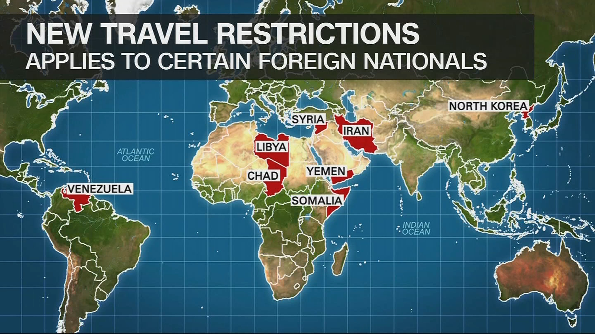 North korea venezuela on new trump travel restrictions list 680 news citizens of eight countries including north korea and venezuela will face new restrictions on entry to the us under a proclamation signed by president gumiabroncs Gallery