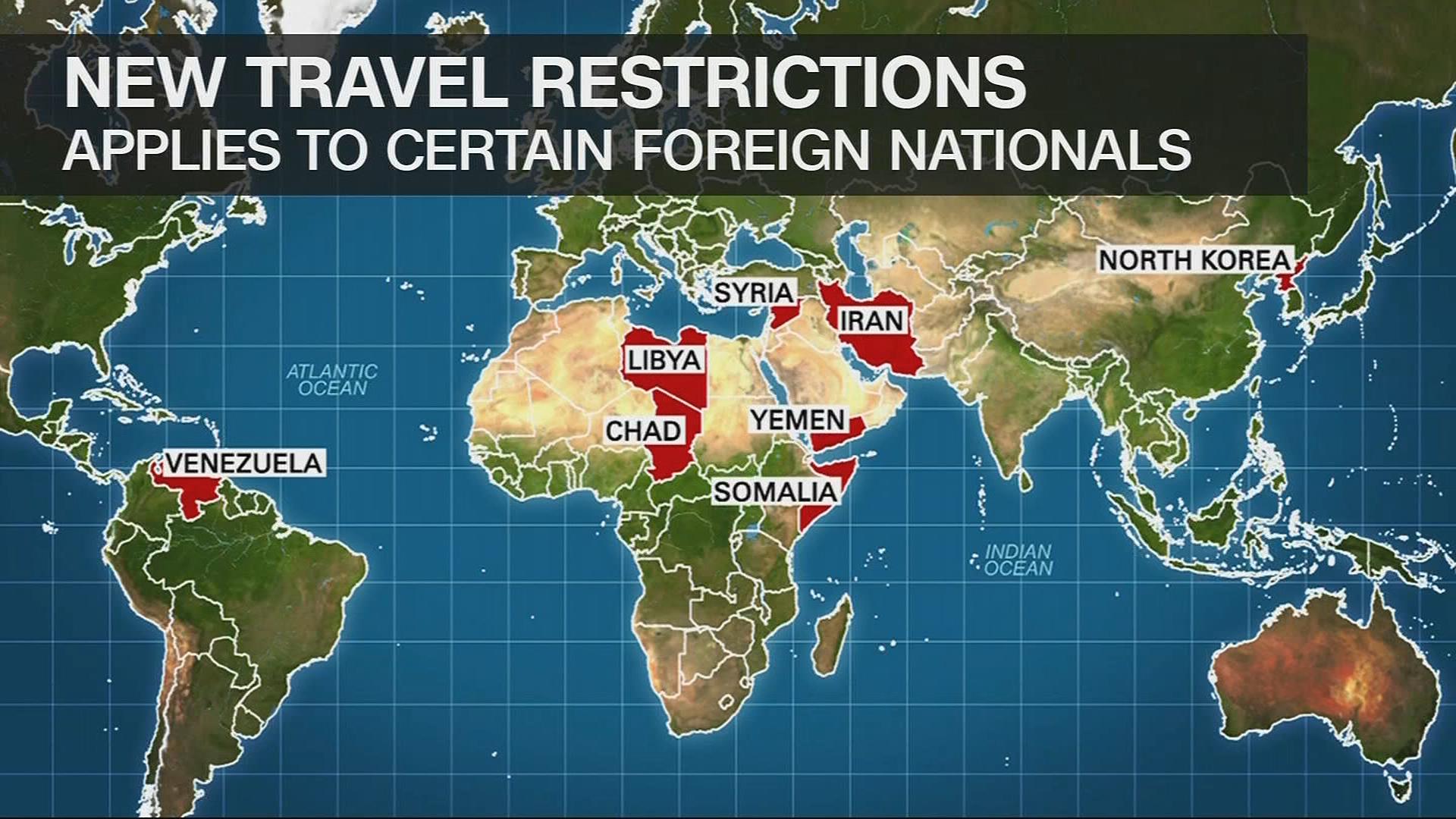North Korea Venezuela On New Trump Travel Restrictions