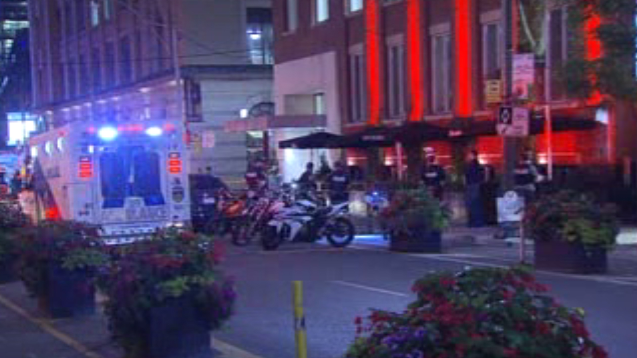Man in life-threatening condition after shooting inside downtown steakhouse
