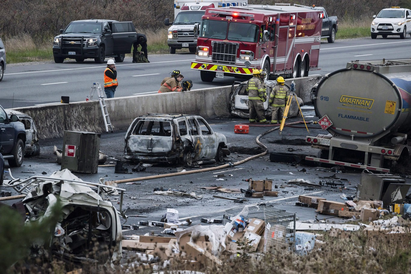 OPP identify 2nd person killed in fiery Hwy  400 crash