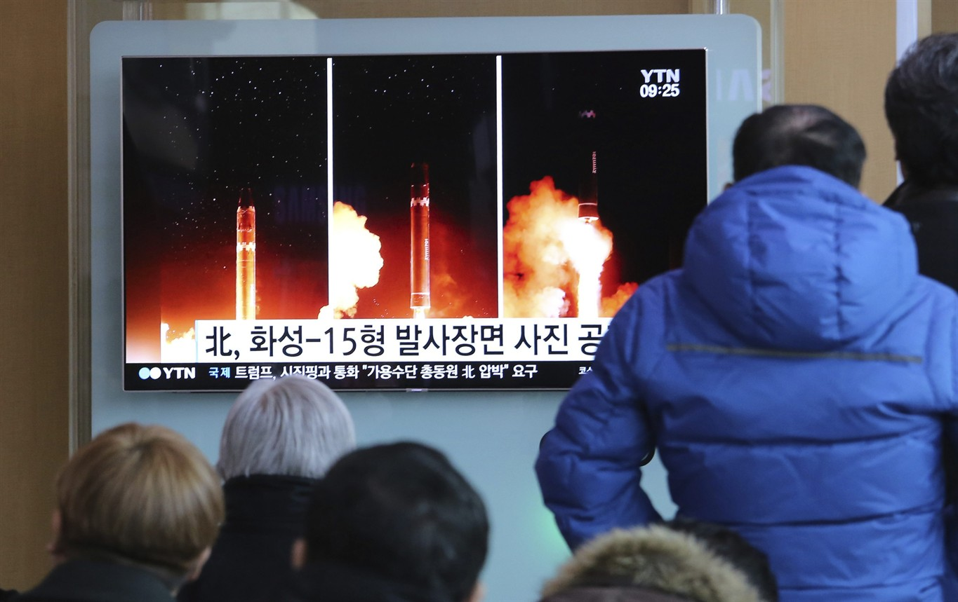 South Korea says North's rocket can reach Washington