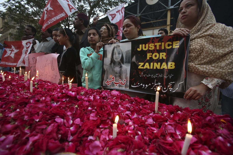 Hunt for killer who raped 7yo in Pakistan
