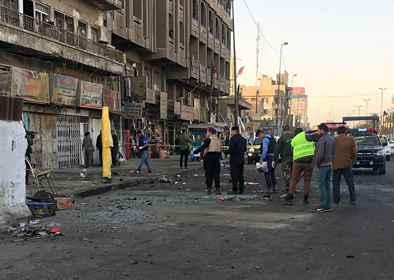 16 killed in Baghdad twin bomb blasts