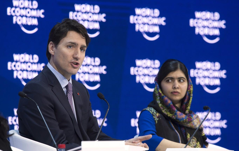 Image result for world economic forum malala