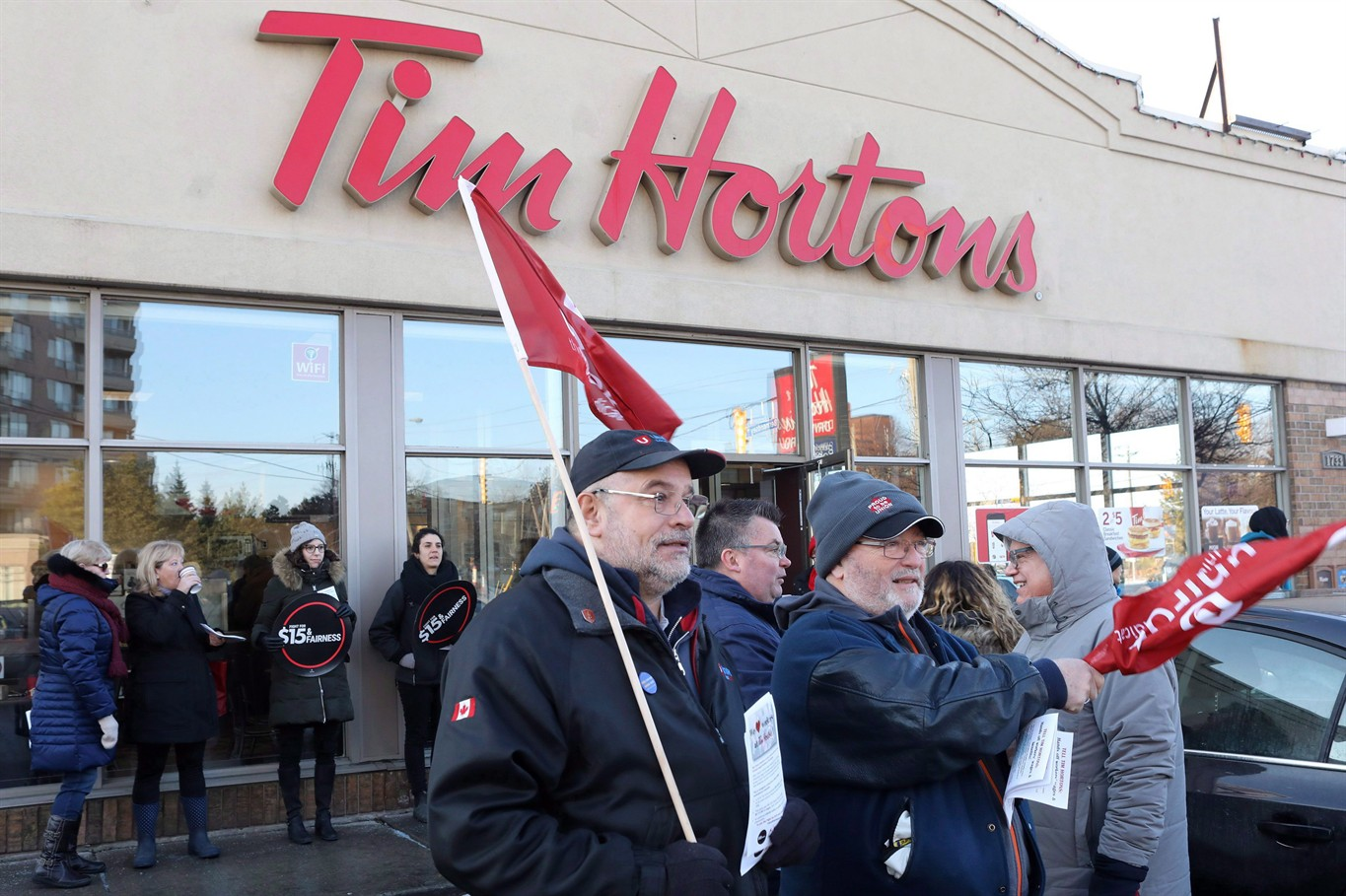 Tim Hortons protests to expand beyond Ontario, 50 demonstrations planned across Canada