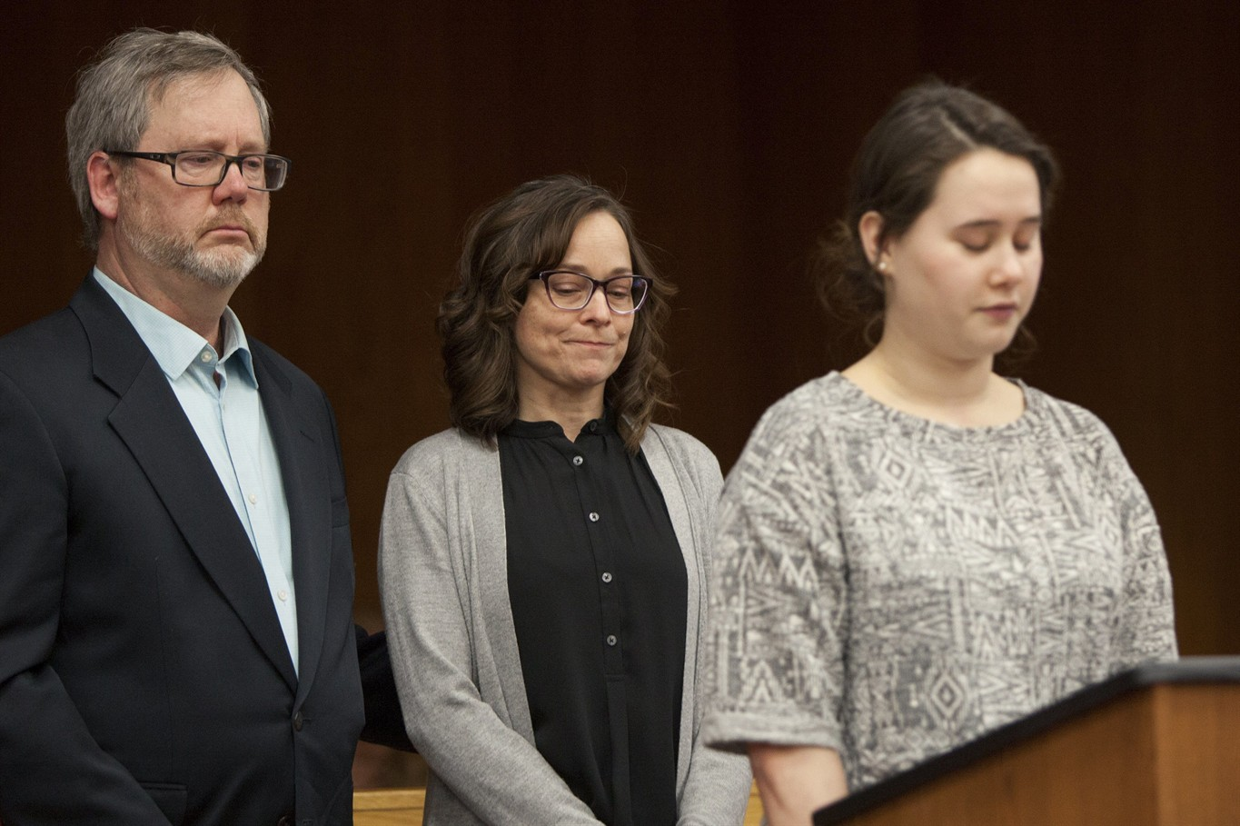 Distraught father tries to attack Nassar in court