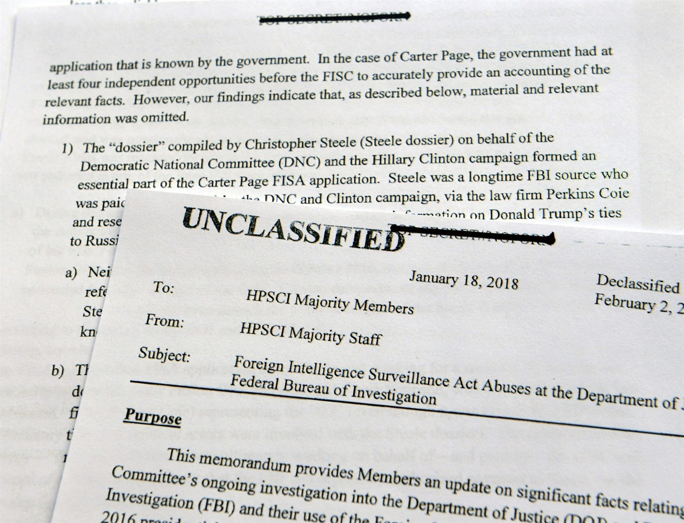 What is a dossier Is this information collected