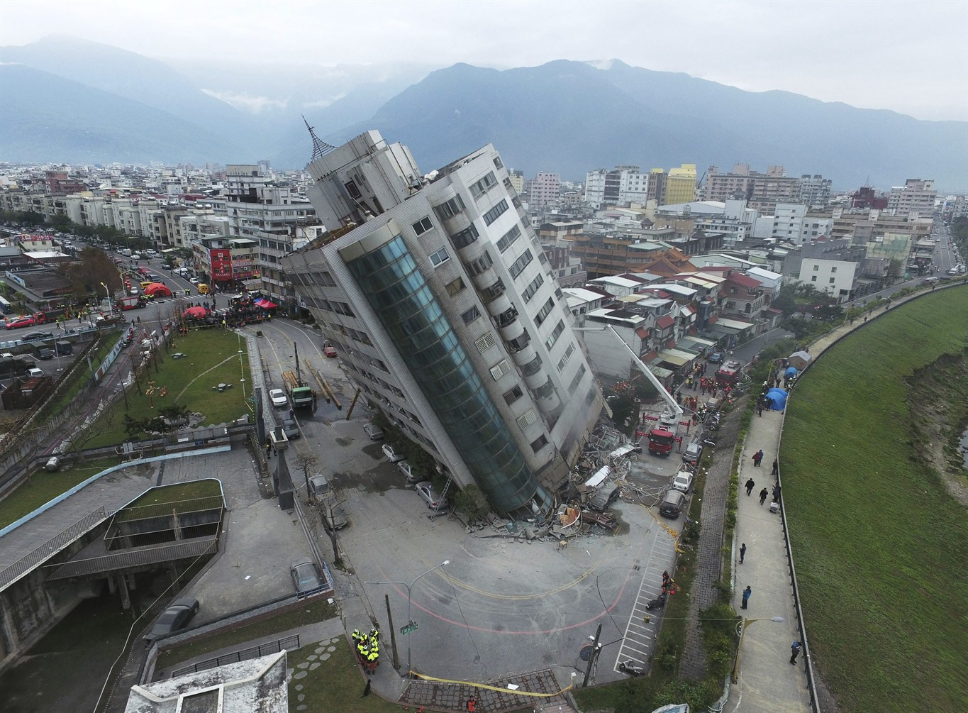 Japan towns hit by 2011 quake launch fundraising for Taiwan