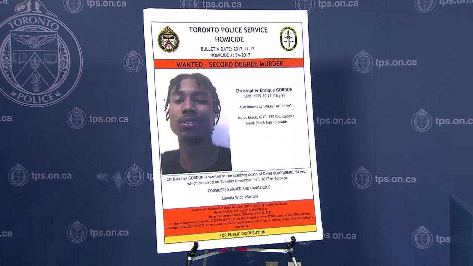 Suspect in Toronto murder arrested in Kitchener