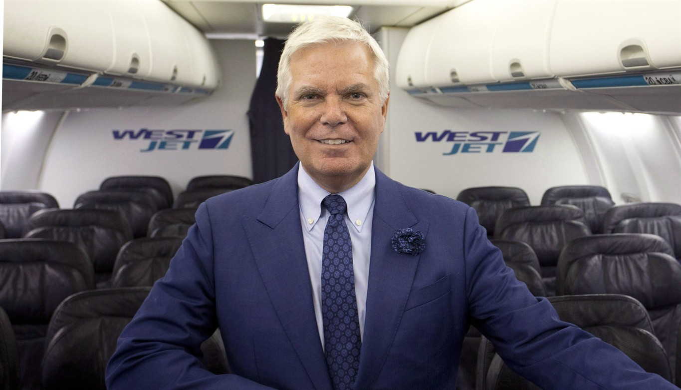 WestJet CEO Gregg Saretsky retires, replaced by executive vice-president Ed Sims