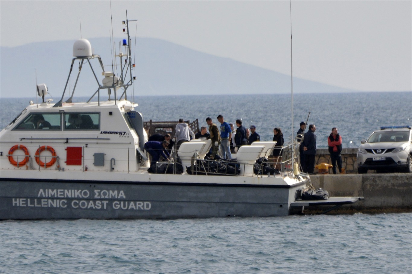 Six dead after suspected migrant boat sinking in Aegean Sea