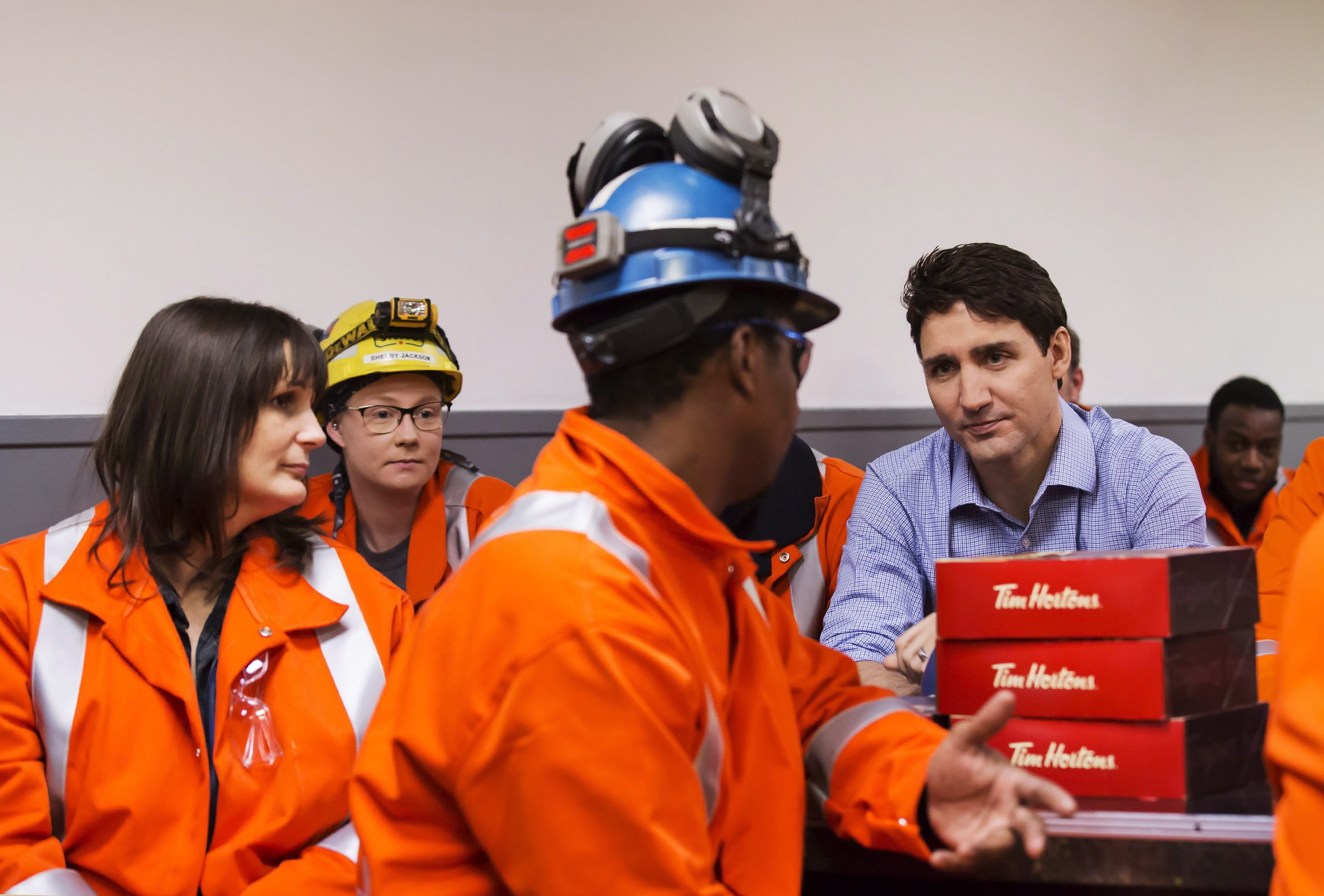 'We had your backs': Trudeau on country's steel and aluminum workers