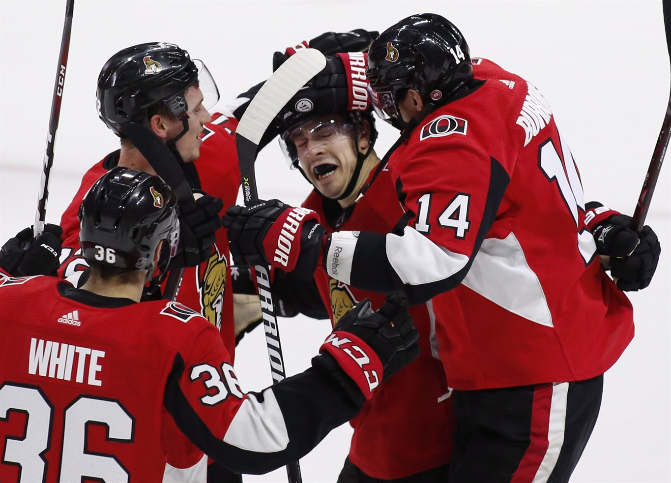 4fd20c69260 Pageau scores on penalty shot in overtime as Senators upset Panthers 3-2