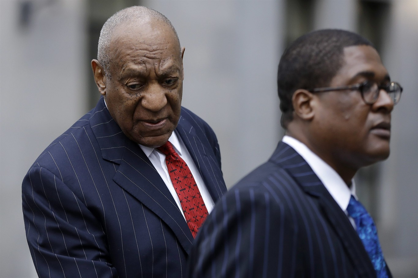 Cosby arrived Thursday morning for the final pretrial hearing in suburban Philadelphia
