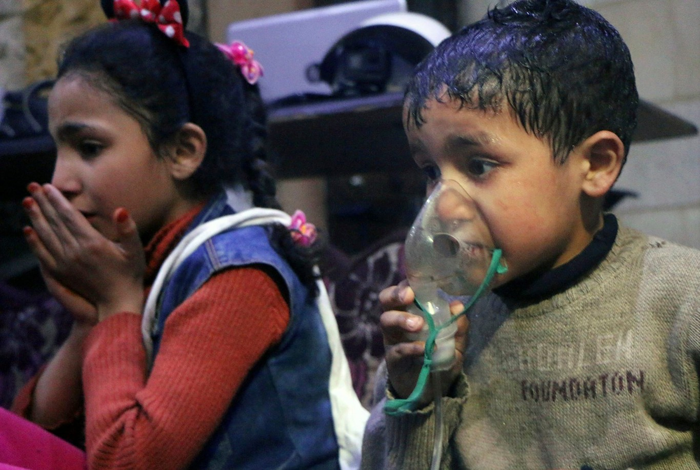 Russia: Chlorine Gas From Germany Found in Syria's Ghouta