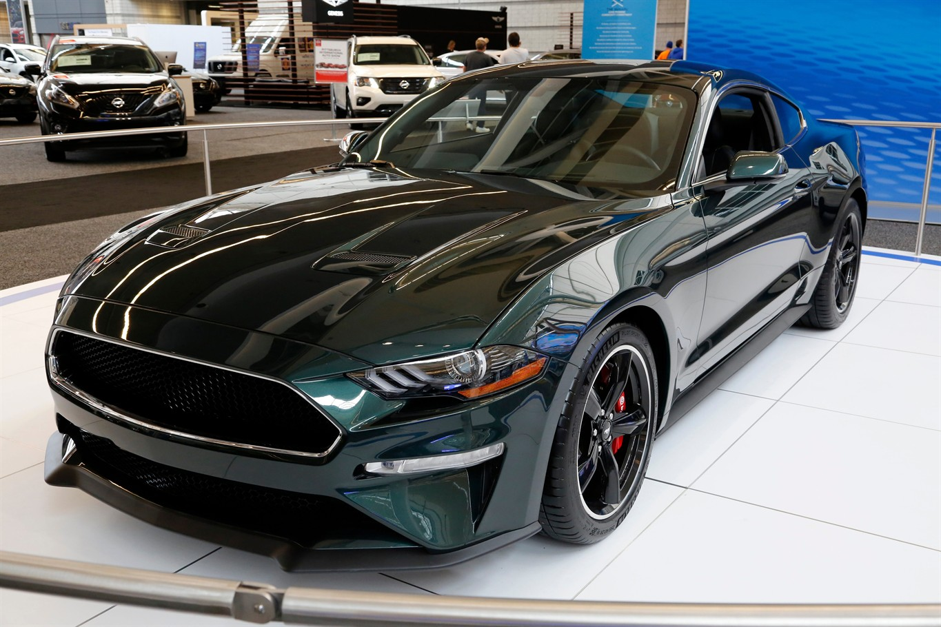 15 2018 File Photos Shows A 2019 Ford Mustang Bullitt On Display At The Pittsburgh Auto Show For Will Debut Latest Version Of