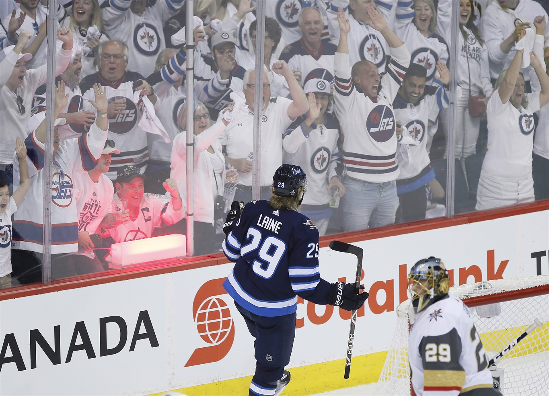 los angeles fae3a 16062 Winnipeg Jets, Vegas Golden Knights the big playoff TV draw ...